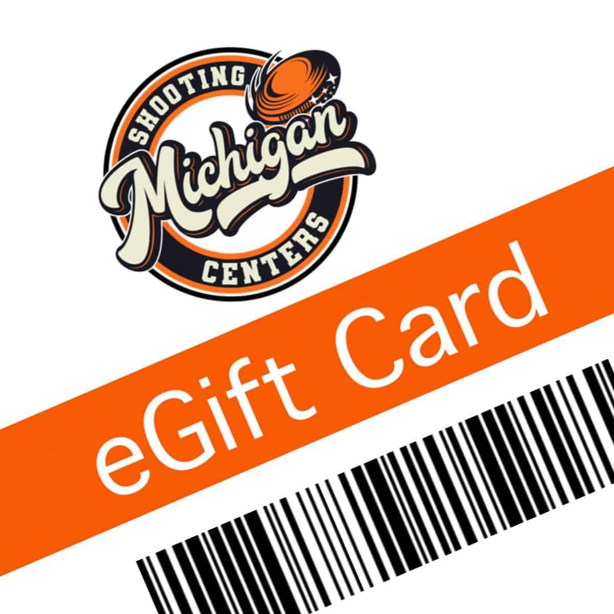 Michigan Shooting Centers Gift Card